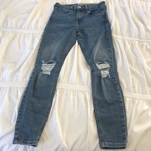Jamie TopShop jeans w/ rips